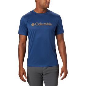 Columbia Zero Rules Graphic Short Sleeve Shirt Men carbon topo lines